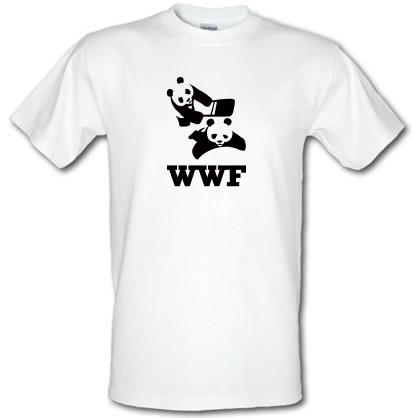 wrestling pandas t-shirt