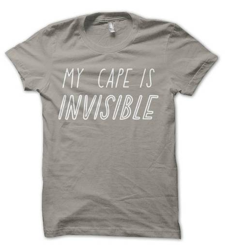 my cape is invisible