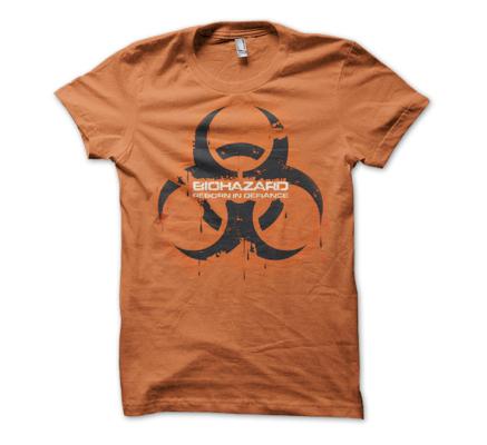 reborn in defiance t-shirt